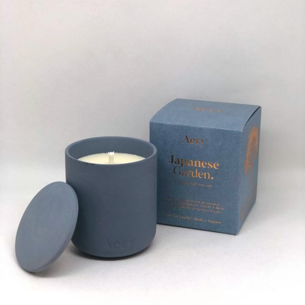Aery Japanese Garden Scented Candle