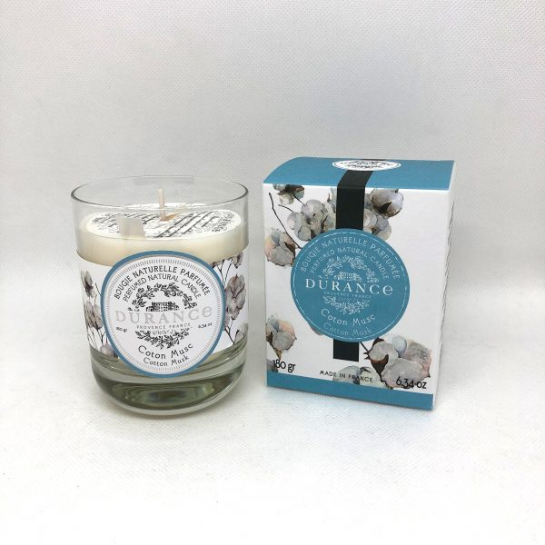 Durance Cotton Musk Candle